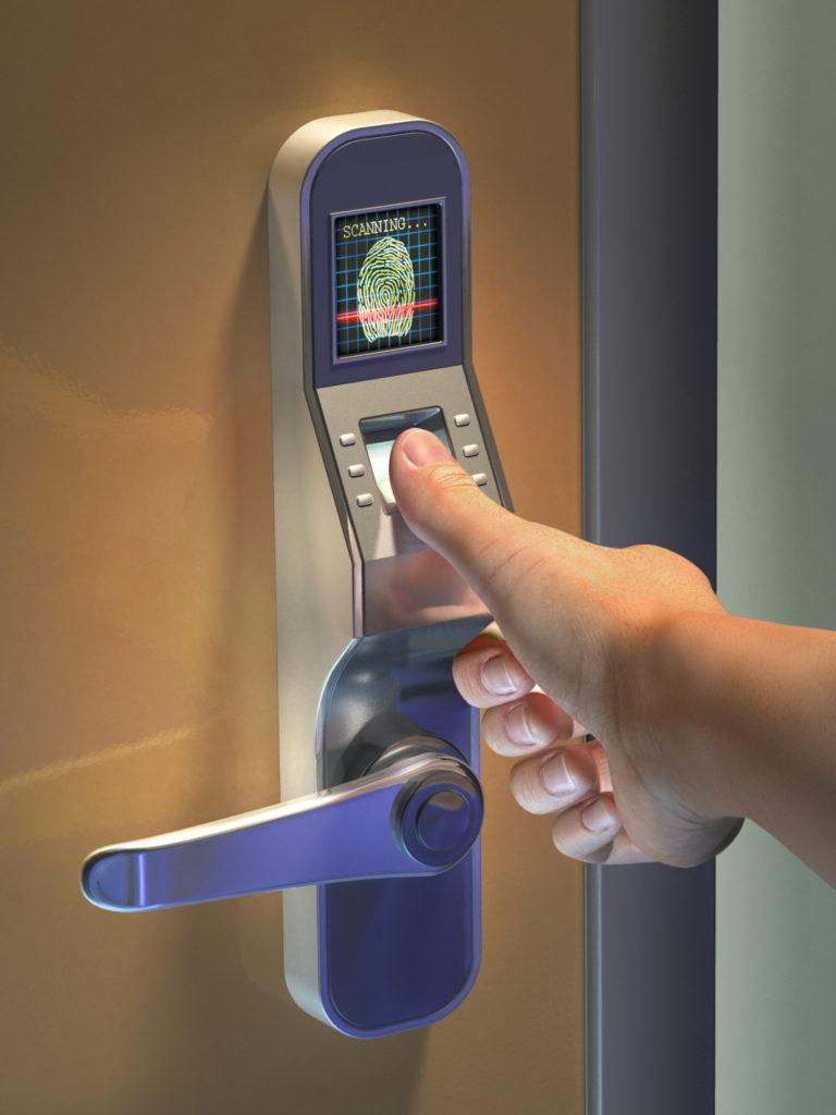Biometric Fingerprint Digital Door Lock Singapore Secured